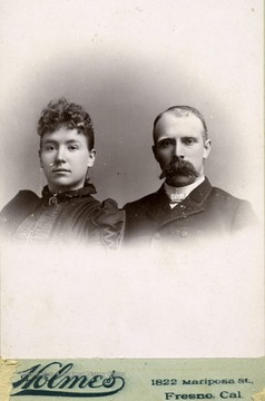 Hu and Anne Humphrey Maxwell pose for a photo.