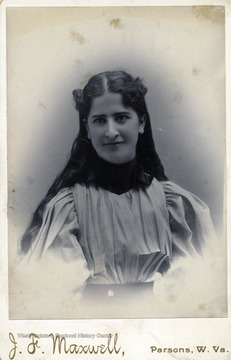 Bessie Maxwell,daughter of Wilson Maxwell.