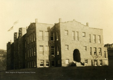 The school was opened in 1922 and totally destroyed by fire in 1942.