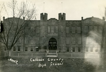 500 students from the county were enrolled at the school before it was destroyed by fire in 1942.