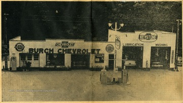 "Opened in 1955 when gas was 29 cents a gallon. The business was home-owned by A. G. ""Ted"" Burch."