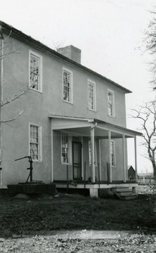 Located on Bullskin Creek, the house was built by John Ariss in 1786.