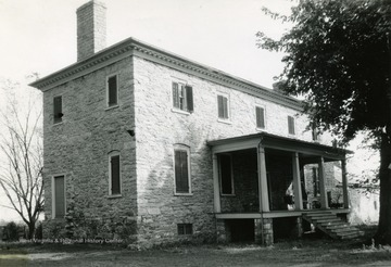 Built by Samuel Washington, younger brother of George Washington in 1770. Viewed from the north-west.