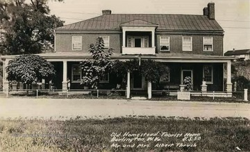 Located on U.S. Route 50. Owned by Mr. and Mrs. Albert Thrush at the time the photo was taken.