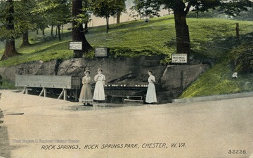See original for correspondence. Published by Rock Springs Company. (From postcard collection legacy system.)