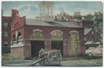 Copyright by National Tribune. See original for postcard historical information on John Brown's fort. (From postcard collection legacy system--subject.)