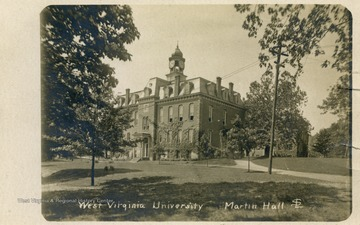 See original for correspondence. (From postcard collection legacy system--WVU.)
