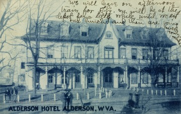 See original for correspondence. (From postcard collection legacy system--subject.)
