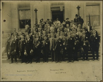 Group portrait of registrants.