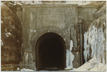 "The tunnel (also known as ""Big Bend Tunnel) is located 10 miles east of Hinton, W. Va. ont he Chesapeake & Ohio Railway. it is the longest tunnel on the C&O Railroad at 6,450 feet and was built from 1870-1872. The tunnel is now closed."