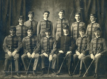 James R. Moreland is second from the right in the back row.