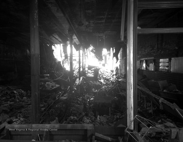 On March 4, 1949 the basement of the Woolworth Department Store on the corner of Quarrier and Capitol Streets in Charleston, West Virginia caught on fire. While fire fighters were on first floor of the scene, it collapsed into the basement, killing seven of the firemen.