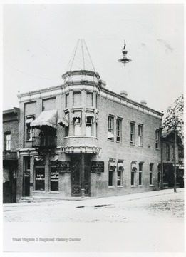 The building, located on the corner of Temple Street and 3rd Avenue, was the second home of the bank.