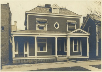 House located on Ballengee Street in the Hinton Historical District.
