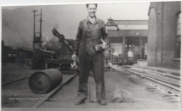 John Earl Lilly pictured in his work gear.
