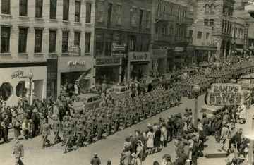 Parade is associated with the War Bond Drive at which the Musical Steelmakers performed.