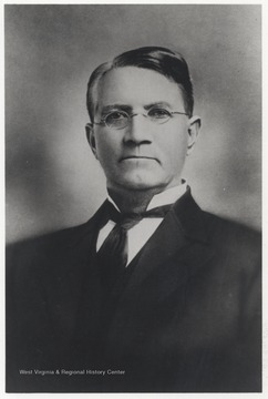 Barker was the President of Oklahoma A&M College from 1891 to 1894. He was born in Hinton, W. Va.
