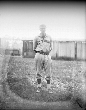 Unidentified baseball player