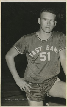 Basham was a teammate of Jerry West during his high school basketball career.The 1956 team secured the first ever state championship title for East Bank High School's basketball team.