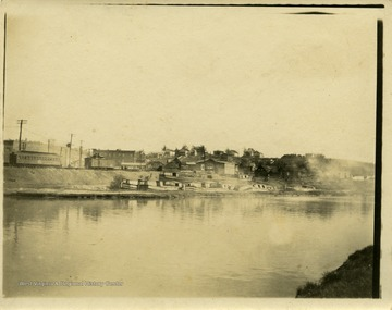 This image is part of the Thompson Family of Canaan Valley Collection. The Thompson family played a large role in the timber industry of Tucker County during the 1800s, and later prospered in the region as farmers, business owners, and prominent members of the Canaan Valley community.View of the Chesapeake and Ohio Canal.