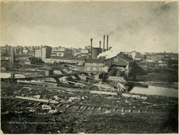This image is part of the Thompson Family of Canaan Valley Collection. The Thompson family played a large role in the timber industry of Tucker Country during the 1800s, and later prospered in the region as farmers, business owners, and prominent members of the Canaan Valley community.The Thompson family came to West Virginia and Tucker County in the late 1800's with the booming timber industry, taking advantage of Tucker County's forests. Albert Thompson of Philadelphia bought the J. L. Rumbarger Lumber Company which was the first lumber company in the area of Davis and Canaan Valley. He then established the Thompson Lumber Company, which later became the Blackwater Boom and Lumber Company. The mill contributed much to the economy and lumber boom of the 1900's, but closed down in 1924.