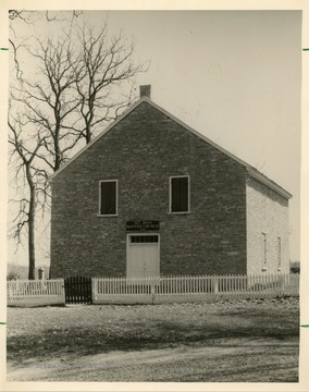 Mt. Zion was organized in 1835. This church was built in 1838.
