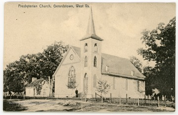 The Gerardstown Presbyterian Church was organized in 1783.