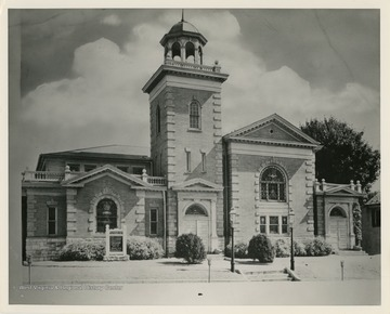 Martinsburg First Presbyterian Church was founded in 1824. The current building was dedicated in 1903.
