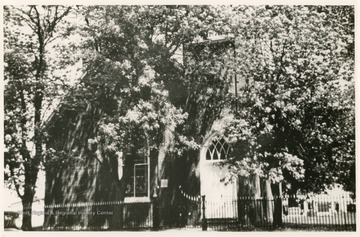 The church was originally built and dedicated in 1782 in honor of Henry Payne, Sr. and his wife.  The current chapel was built in 1902.