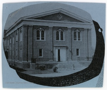 The church was organized in 1824. The building was dedicated in 1884.