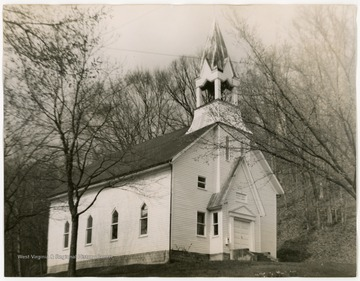 The church was organized in 1832, the present building was built in 1877.