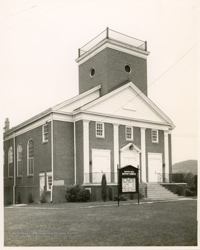 The church was organized in 1783. The current church was built in 1928.  In 1787 the  trial of Rhoda Ward for witchcraft was held at the church among other trials.
