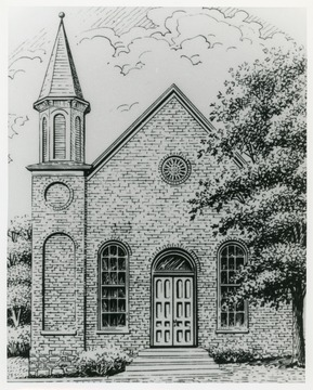 The church was organized in 1834 in Johnstown, six miles east of Lost Creek.  The present building was erected in 1856.