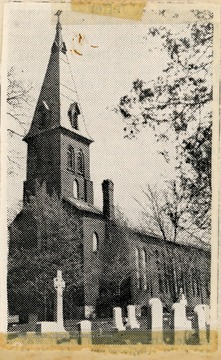 The church was organized in 1814 or 1816. The present church was dedicated in 1851.
