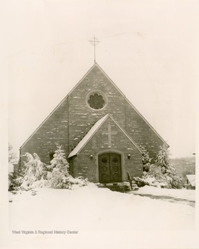 The church was organized in 1852.