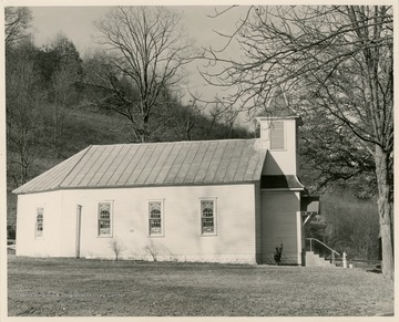 The church in Flat Run, several miles North of Mannington, W. Va., was organized in 1854.
