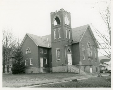 The church was organized in 1831 and the first church, a log building, was built the same year.  In 1870 a frame church replaced the log church.  In 1916 the present church was dedicated.