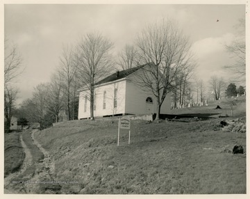 The church near Freemansburg was organized in 1831.