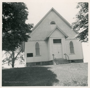 The church was organized in 1869.