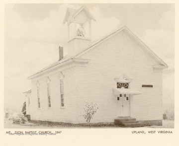 The church was organized in 1847.
