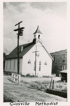 The old church was built in 1808 in Cassville which was then called Clarksville, and the present church was built in 1889-1890.
