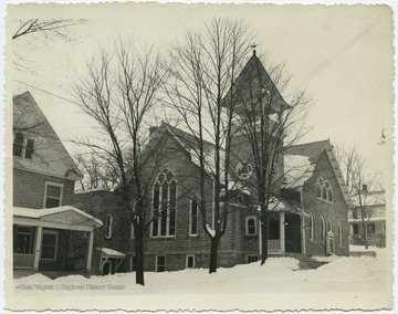 The church was established prior to August of 1855. By the 1960's, it held the largest congregation in all of Berkeley Springs.