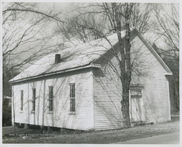 "The church was established some time between 1803 and 1810. During the Civil War, church members were openly divided as ""northern"" members would hold service inside the church while ""southern"" members would stand outside or vice-versa."