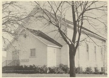 The church was established in 1829 when a group of Long Run residents baptized by Alexander Campbell began to meet in private homes for worship.