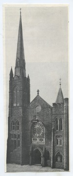 The church was established in 1856 by a small group of the city's leading businessmen.
