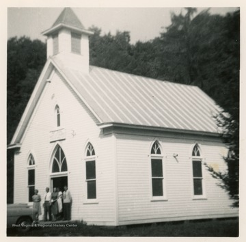 The Church was founded in Spring of 1840. The current church was rebuilt after a fire in 1904