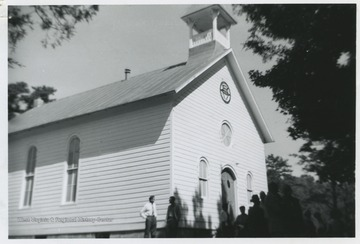 The church was built around 1821 about two miles north of Ft. Seybert. It was the first ever Methodist church in Pendleton County.