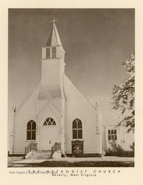 The church began with services held in homes and other buildings in 1784. Later a log building was built.  A frame church was built in 1867 and the present church building was built in 1890.