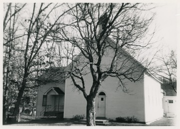The congregation which later became the present Methodist church first met at the Hinkle Church in 1856.  The present church was built in 1891.