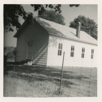 The Leading Creek Primitive Baptist Church was formed in 1854.